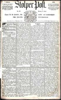 Stolper Post Nr. 93/1883