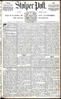 Stolper Post Nr.94/1883
