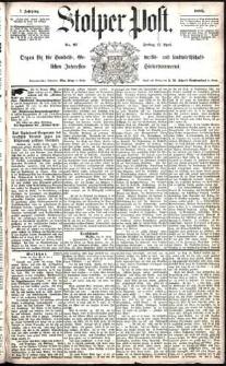 Stolper Post Nr. 97/1883