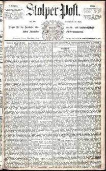 Stolper Post Nr. 98/1883