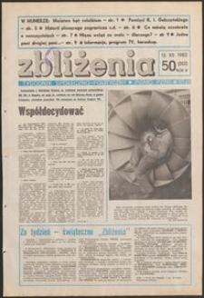 Zbliżenia : tygodnik społeczno-polityczny, 1983, nr 50