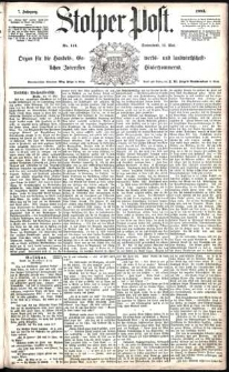 Stolper Post Nr. 114/1883