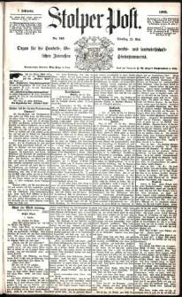Stolper Post Nr. 116/1883