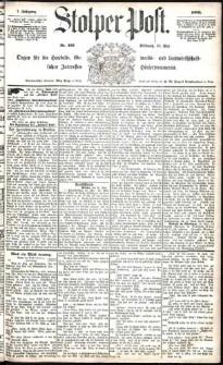 Stolper Post Nr. 123/1883