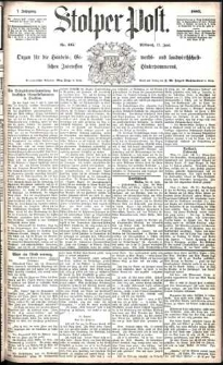 Stolper Post Nr. 135/1883