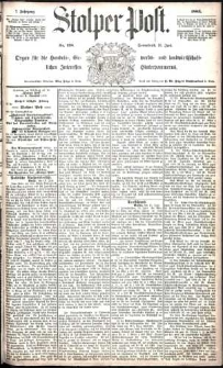 Stolper Post Nr. 138/1883