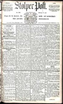 Stolper Post Nr. 145/1883