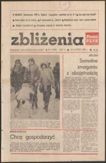 Zbliżenia : tygodnik społeczno-polityczny, 1983, nr 6