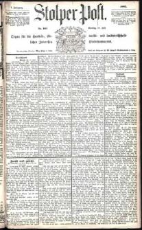 Stolper Post Nr. 163/1883