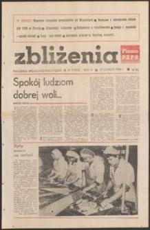 Zbliżenia : tygodnik społeczno-polityczny, 1983, nr 7