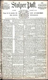 Stolper Post Nr. 166/1883