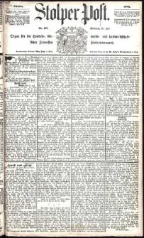 Stolper Post Nr. 171/1883