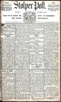 Stolper Post Nr. 172/1883
