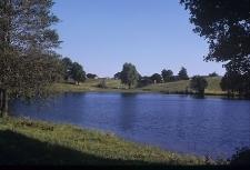 Widok ogólny. Jezioro - Grabowo