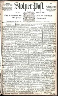 Stolper Post Nr. 187/1883