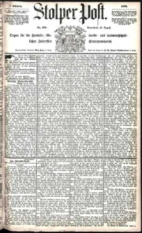 Stolper Post Nr. 198/1883