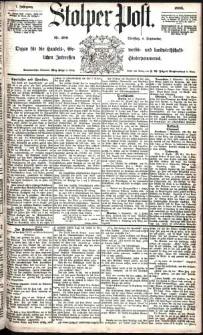 Stolper Post Nr. 206/1883