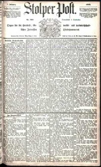 Stolper Post Nr. 210/1883
