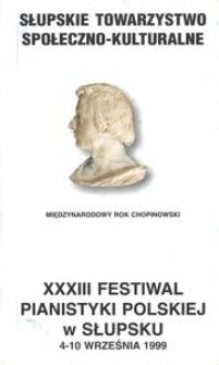 Festiwal Pianistyki Polskiej (33 ; 1999 ; Słupsk)