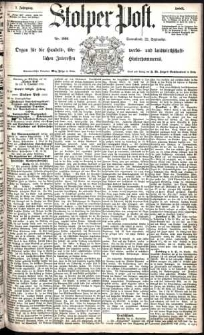 Stolper Post Nr. 222/1883