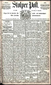 Stolper Post Nr. 226/1883