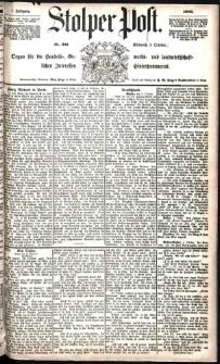 Stolper Post Nr. 231/1883