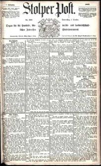 Stolper Post Nr. 232/1883
