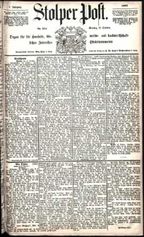 Stolper Post Nr. 241/1883