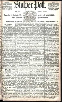 Stolper Post Nr. 257/1883