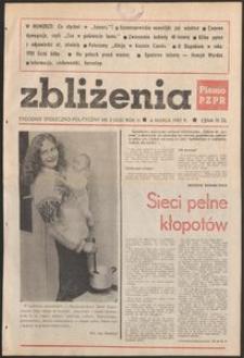 Zbliżenia : tygodnik społeczno-polityczny, 1982, nr 3