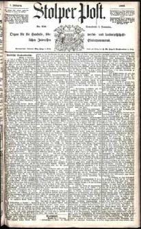 Stolper Post Nr. 258/1883