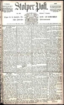 Stolper Post Nr. 261/1883
