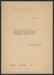 Program rozwoju muzealnictwa na terenie województwa koszalińskiego w latach 1979-1985