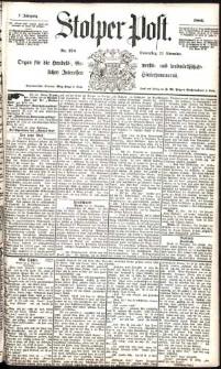 Stolper Post Nr. 274/1883