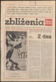Zbliżenia : tygodnik społeczno-polityczny, 1982, nr 8