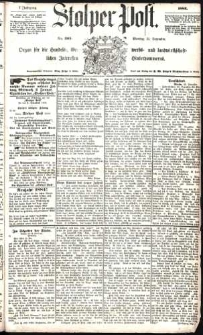 Stolper Post Nr. 305/1883