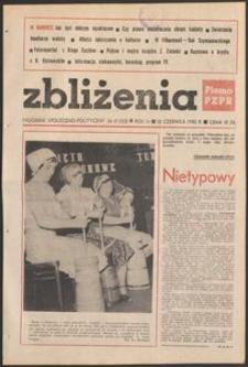 Zbliżenia : tygodnik społeczno-polityczny, 1982, nr 17