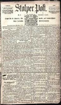 Stolper Post Nr. 2/1885