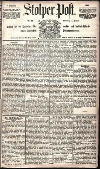Stolper Post Nr. 11/1885
