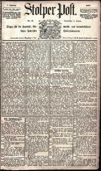 Stolper Post Nr. 12/1885