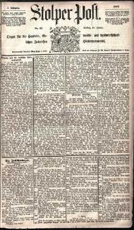 Stolper Post Nr. 13/1885