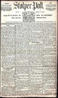Stolper Post Nr. 15/1885