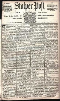 Stolper Post Nr. 19/1885