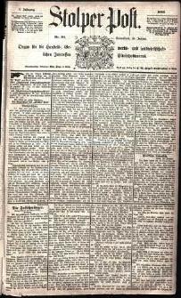 Stolper Post Nr. 20/1885