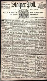 Stolper Post Nr. 23/1885