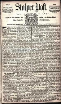Stolper Post Nr. 24/1885