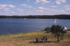 Widok ogólny. Jezioro - Wdzydze - KPE