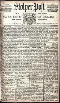 Stolper Post Nr. 33/1885