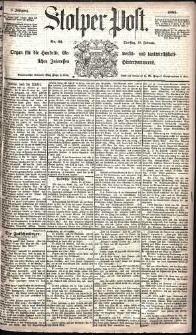 Stolper Post Nr. 34/1885