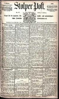 Stolper Post Nr. 37/1885